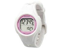 ウォッチ万歩計WATCHMANPOTM-400ホワイト/ピンク(W/P)ウォッチタイプ万歩計【万歩計・歩数計(腕時計)】