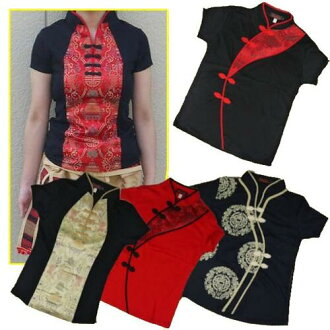China-style tops short sleeve M & L &XL size