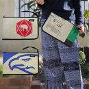 【メール便可】リサイクルバッグポリプロピレン飼料袋クラッチバッグ【New】