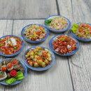 【メール便可】ミニチュアフード雑貨中華料理タイ料理長丸皿約3.8×3.1cm&丸皿約3.5cm