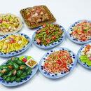 【メール便可】ミニチュアフード陶器のお皿タイ料理雑貨