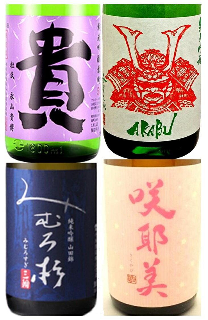 日本酒, 純米吟醸酒  2 4 1800ml4