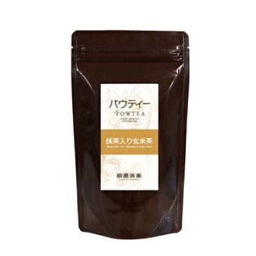 パウティー 抹茶入り玄米茶 1袋 80g