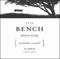 ベンチ(byブラック・マウンテン)ピノ・ノワールソノマコースト[2014](正規品)Bench