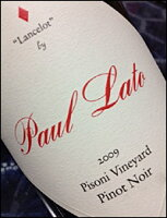 """ポール・ラトーピノ・ノワール""""ランスロット(ピゾーニ・ヴィンヤード)""""サンタルチアハイランズ[2013](正規品)PaulLatoLancelotbyPisoni"""