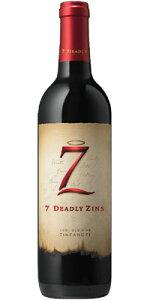 """ザ セブン デッドリー ジンズ(旧マイケル デイヴィッド) ジンファンデル """"オールド ヴァイン"""" ロダイ [2017] (正規品) Michael David Zinfandel The Seven Deadly Zins [赤ワイン][アメリカ][カリフォルニア][ロダイ][750ml]"""