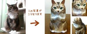 写真から作るマイ招き猫お願い(大)