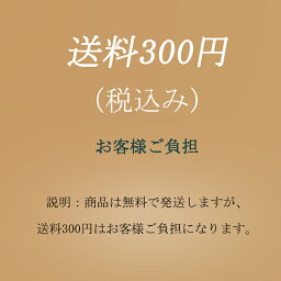 送料300円(税込み)お客様ご負担-専用ページ(商品は無料で発送しますが、送料はお客様ご負担になります。)