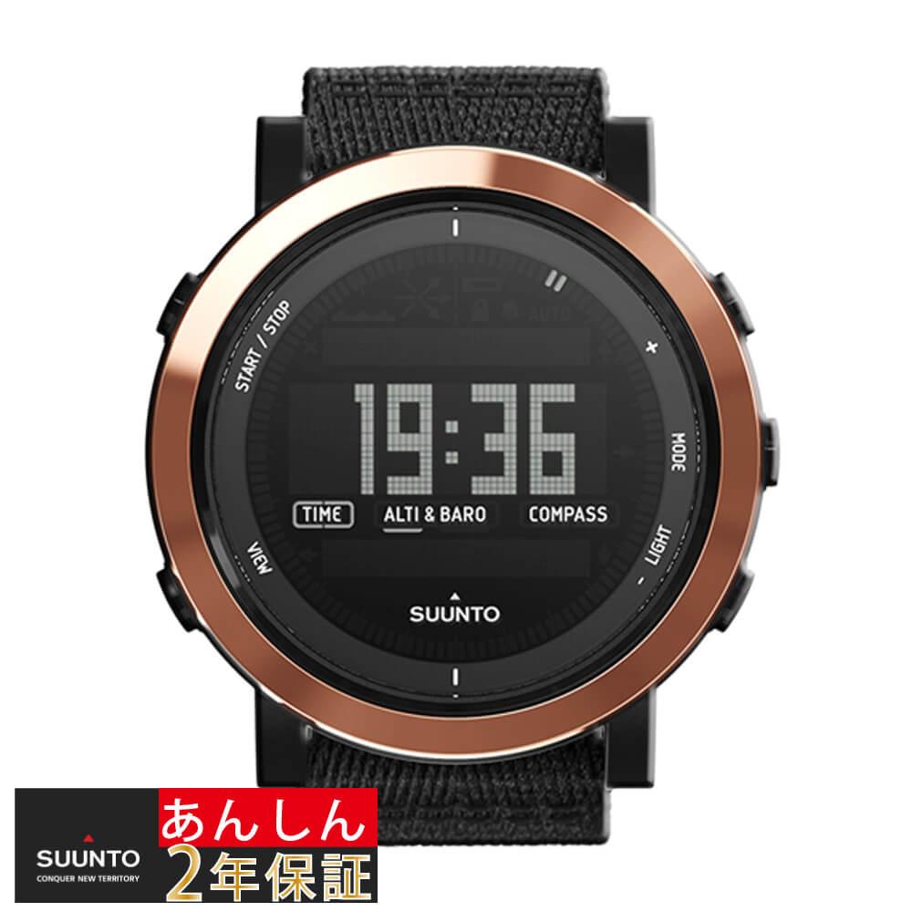 腕時計, メンズ腕時計 2 SUUNTO ESSENTIAL CERAMIC COPPER BLACK TX SS022440000