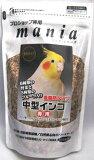 黒瀬ペットフード マニアシリーズ mania中型インコ 低脂肪タイプ 3L×6袋(ケース販売)