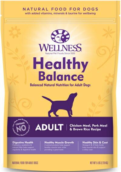 【ウエルネス】ヘルシーバランス 成犬用(1歳以上) チキン 2.26kg