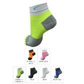フットマックス footmax 5本指ソックスス 5FINGER MODEL【FXR107】(ランニング用品)ソックス メンズ レディース 5本指 くるぶし 男女兼用 靴下 3D フルマラソン ジョギング ランニングソックス