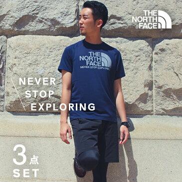 ノースフェイス ランニングウェア メンズ セット 3点(半袖Tシャツ パンツ タイツ )マラソン THENORTHFACE 初心者 上下 男性 冬 福袋 2019