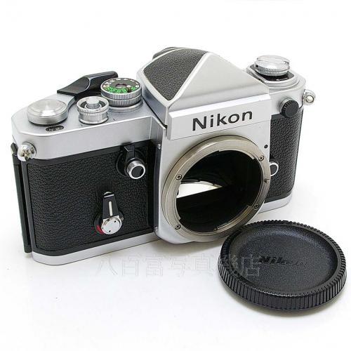 中古 ニコン F2 アイレベル シルバー ボディ Nikon 05137 【カメ...