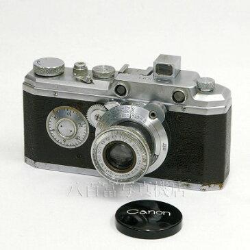 【中古】 キヤノン キヤノンオリジナル 最終仕様 ニッコール 5cm F3.5 セット 中古カメラ 25896【カメラの八百富】【カメラ】【レンズ】
