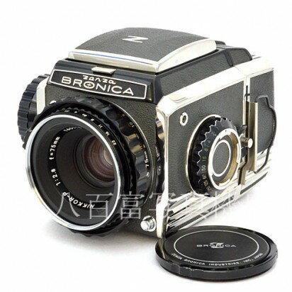 フィルムカメラ, 中判・大判カメラ 71920:0072601:59!!43!!4,000O FF!! S2 Nikkor-P 75mm F2.8 ZENZA BRONICA 40975