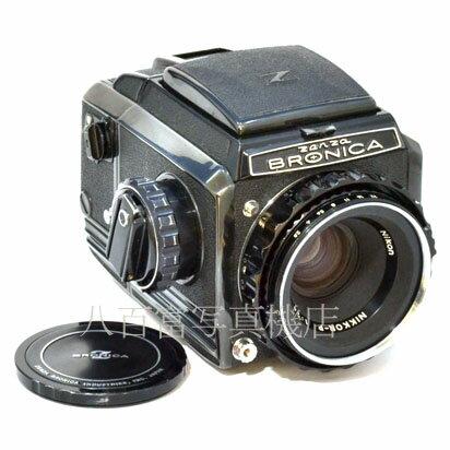 フィルムカメラ, 中判・大判カメラ 715 !!27! S2A Nikkor 75mm F2.8 ZENZA BRONICA 43517