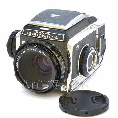 フィルムカメラ, 中判・大判カメラ 715 !!27! S2 (C) Nikkor 75mm F2.8 ZENZA BRONICA 42410