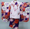 七五三 三歳 三才 女児 被布着物フルセット 染め加工日本 縫製と長襦袢は海外 女の子 3歳 3才 祝着 新品(株)安田屋 p832231620