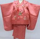 (着物セット 華やか A) 七五三 着物 3歳 18colors 販売 フルセット 753 女の子 被布 被布セット ガールズ (yp)