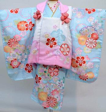 七五三 3歳 3才 三歳 三才 女児 女の子 被布 着物 祝着フルセット 半衿縫付け済み 陽気な天使 新品 (株)安田屋 l472598192