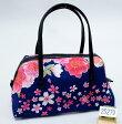 和装バッグ 四季彩百花 日本製 和柄 メール便可 和装着物小物 新品(株)安田屋 d230708146