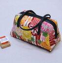 和装バッグ 四季彩百花 日本製 和柄 メール便可 和装着物小物 新品(株)安田屋 f357716044