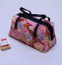 和装バッグ 四季彩百花 日本製 和柄 メール便可 和装着物小物 新品(株)安田屋 p697590412