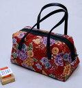 和装バッグ 四季彩百花 日本製 和柄 メール便可 和装着物小物 新品(株)安田屋 j576701767