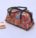 和装バッグ 四季彩百花 日本製 和柄 メール便可 和装着物小物 新品(株)安田屋 q299253096