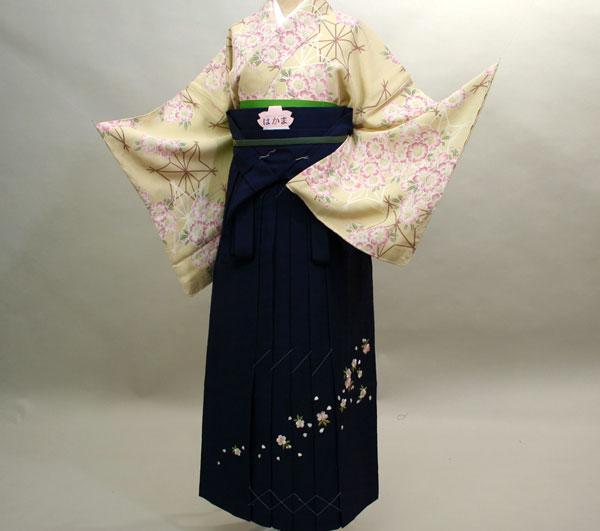着物袴セット 正絹 ブランド KANSAI 小物まで一式揃う 7日間レンタル 卒業式にどうぞ!(株)安田屋 l434736414