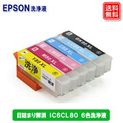 IC80,IC6CL80L,エプソン,洗浄液,クリーニング液
