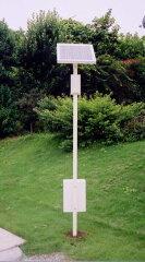 サン・グルーヴ-K(30W:太陽電池パネル・ソーラーパネル照明灯)