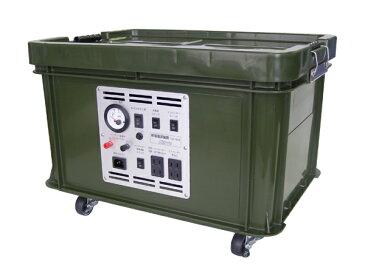 停電電源装置:家庭用蓄電池電源セット