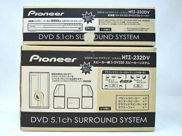 未使用 【中古】 未使用 Pioneer パイオニア HTZ-232DV DVD5.1ch サラウンドシステム O2752706