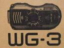 未使用【中古】PENTAX 防水 防塵 アウトドア仕様 デジタルカメラ WG-3 ブラック