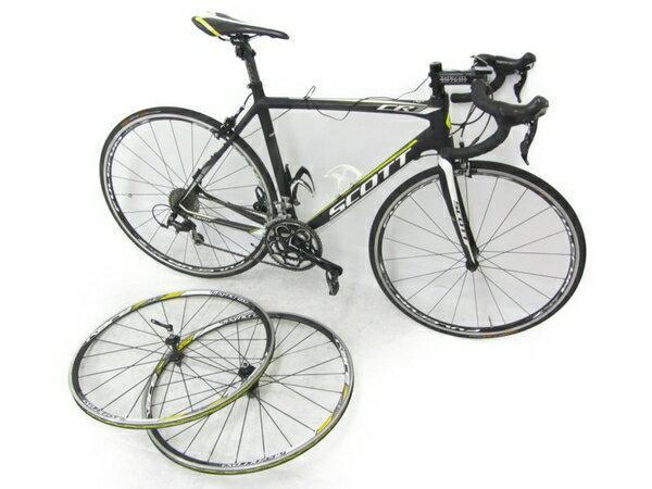【中古】 SCOTT スコット CR1 COMP Mサイズ カーボン ロードバイク 2013 モデル 自転車 N3949962