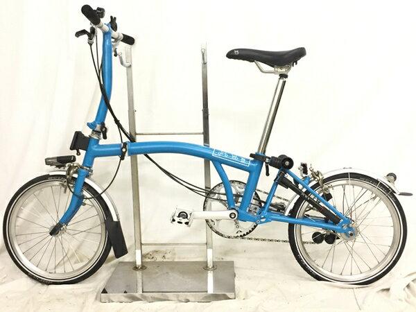 【中古】 良好 BROMPTON ブロンプトン S6L 自転車 折りたたみ 3段変速...