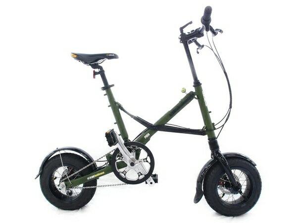 【中古】 中古 OX Bikes PECO Buccho 100台 限定車 マットグリーン 12インチ  S2511684:ReRe(安く買えるドットコム)