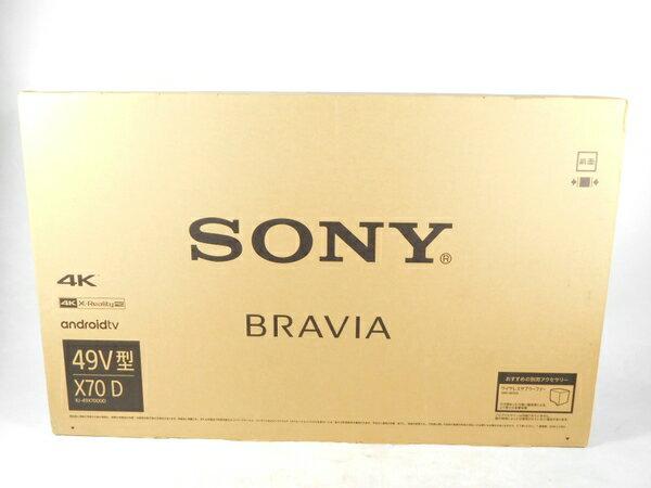 未使用【中古】SONY ソニー BRAVIA KJ-49X7000D 液晶 テレビ 49型 4K  K2519217:ReRe(安く買えるドットコム)