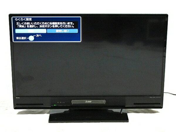 【中古】 三菱 40型 液晶 テレビ LCD-V40BHR7 ブルーレイ HDD内蔵 500GB TV 【大型】 T2564114:ReRe(安く買えるドットコム)