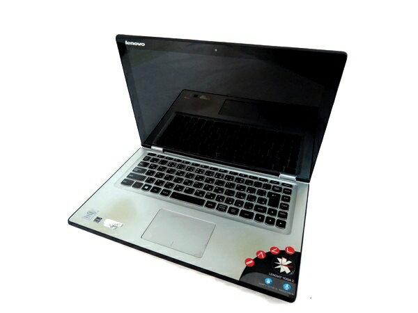 【中古】 Lenovo Yoga2 13 win8 i5 8GB 500GB シルバー Y25…