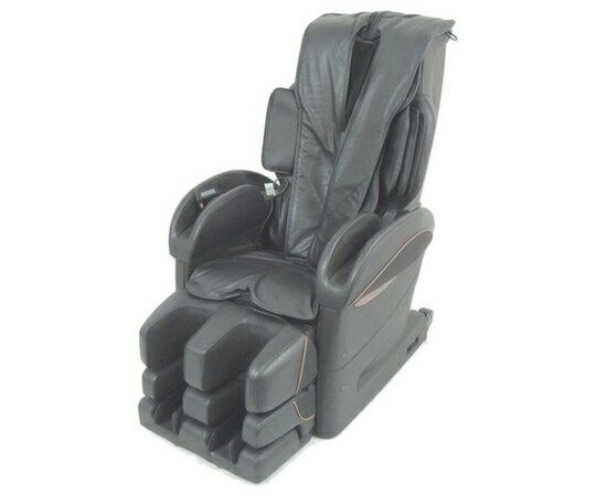 【中古】 FUJIIRYOKI RelaxSolution SKS-5500 マッサージチェア ブラック 楽直【大型】 Y2465119:ReRe(安く買えるドットコム)