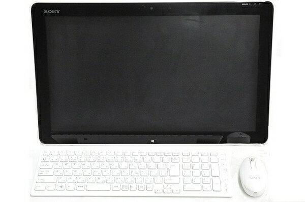 【中古】 SONY ソニー VAIO SVJ20217CJW モニター 一体型 デスクトップ …