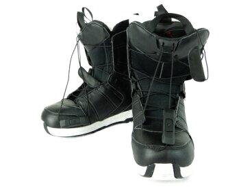 【中古】 良好 SALOMON FACTION Black 26.5cm スノーボード用 シューズ ソフトブーツ スノボ ブーツ Y3664853