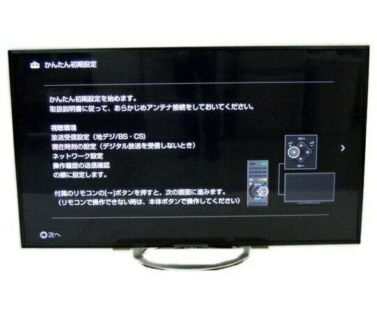 【中古】中古 SONY BRAVIA KDL-55W802A 液晶 テレビ 55型 【大型】  Y2487535:ReRe(安く買えるドットコム)