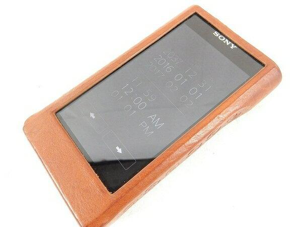 美品【中古】SONY ソニー ウォークマン NW-WM1A ポータブル プレーヤー 128GB  S2501628:ReRe(安く買えるドットコム)
