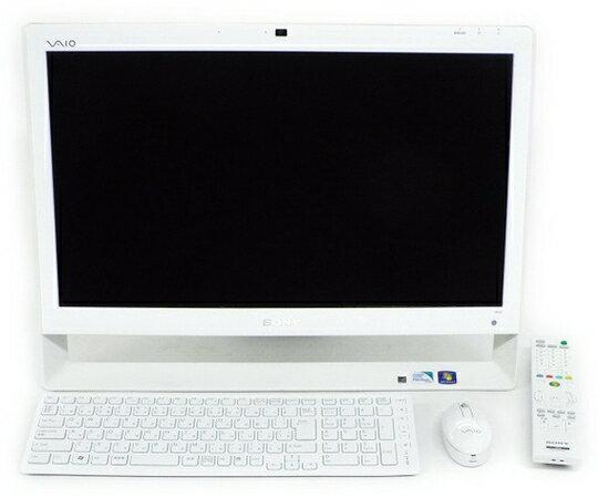 【中古】 SONY VAIO Jシリーズ VPCJ236FJ/W 21.5インチ 一体型パソコ…
