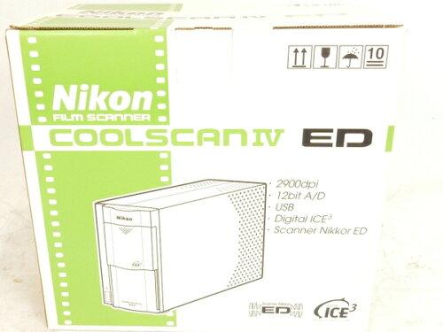 未使用Nikon LS-40 ED フィルムスキャナ COOLSCANIV S1902741