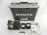 【】日立工機14.4VインパクトドライバWH14DBL工具電動工具DIYN2526113